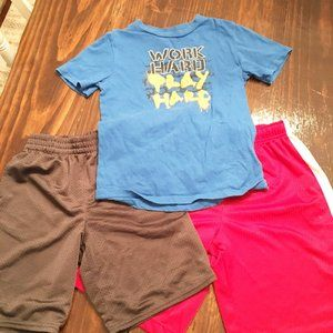 Athletic Play Clothes Lot Starter And Nike 6-7
